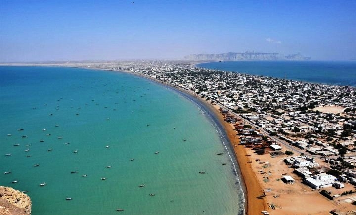 Largest deep sea port in the world - Gwadar