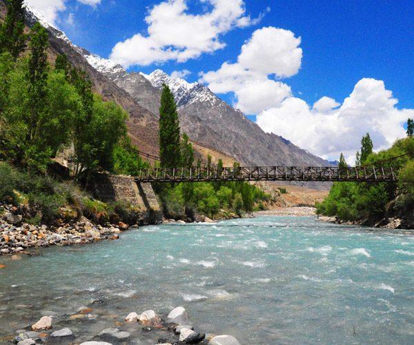 Bridge to Yarkhun Valley