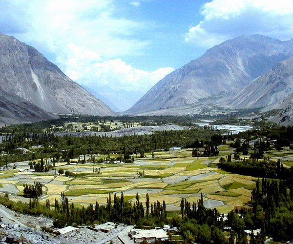 Captivating view of Chitral Valley