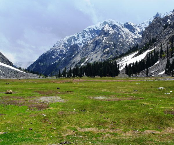 A beautiful view of Chitral Valley