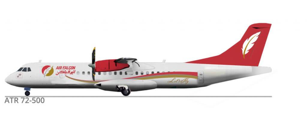 ATR72-500 Aircraft