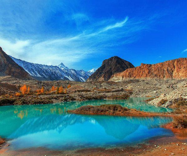 Glacial Lake Batura - Gilgit