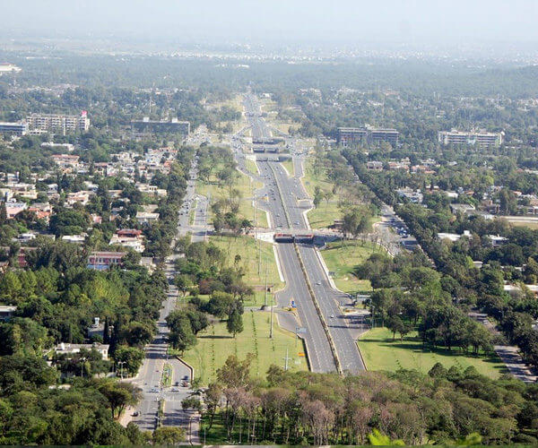 Islamabad City (Aerial View)