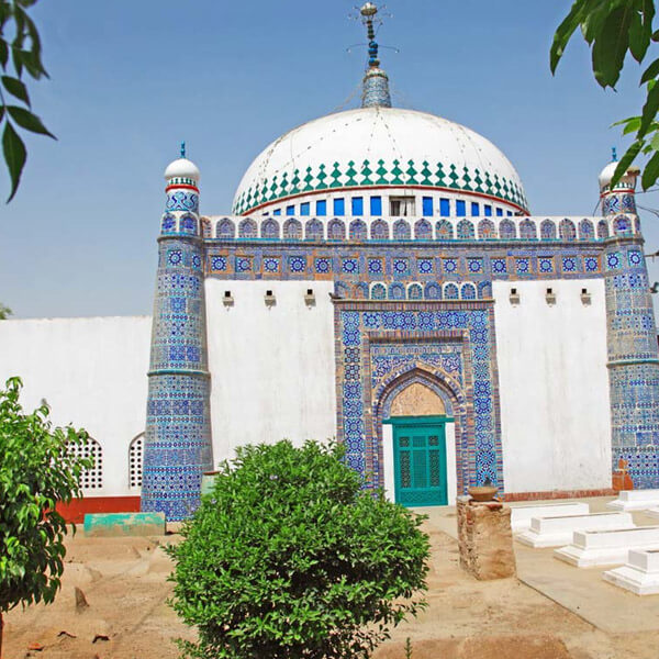 A Shrine in Multan