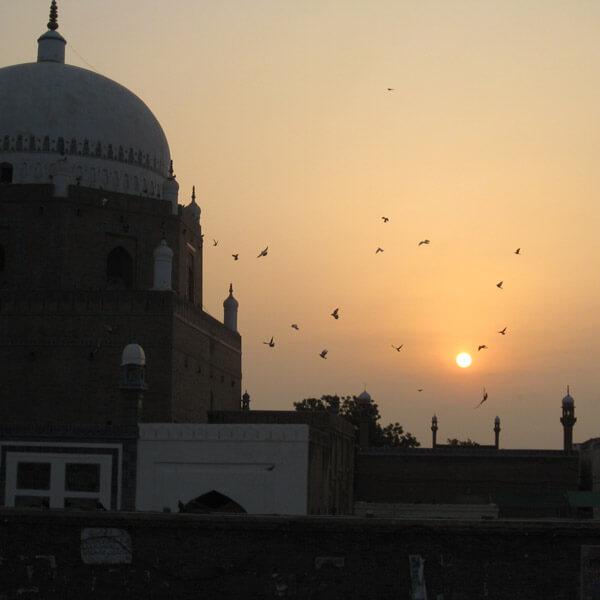 Bahauddin Zakariya Tomb - Multan
