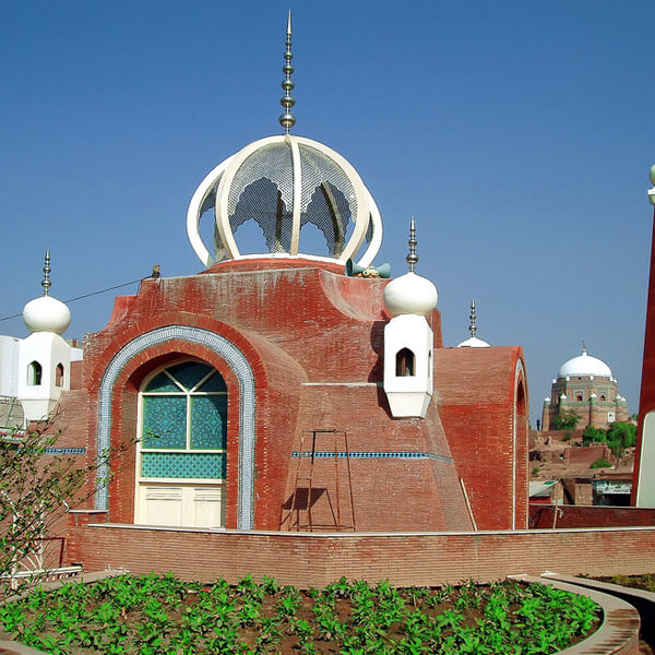 A Mosque located at Chowk Ghanta Ghar - Multan