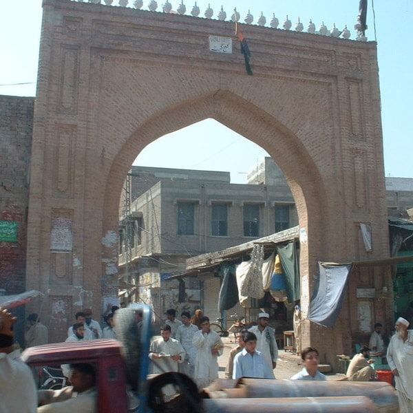 Gunj Gate - Old Peshawar