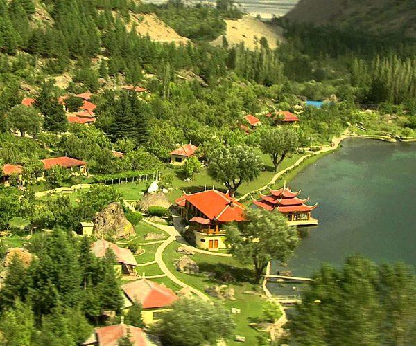 Aerial view Shangrila Resort - Skardu