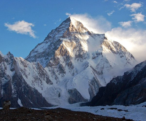K2 - The second highest mountain in the world